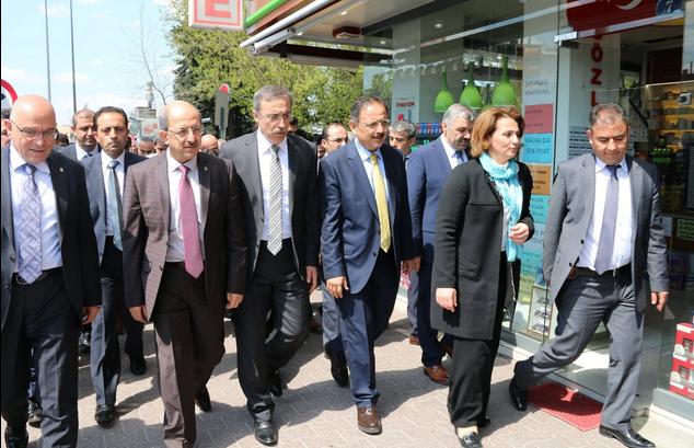 AK PARTİ MV.ADAYLARI SEYYİD BURHANEDDİN TÜRBESİ'NDE