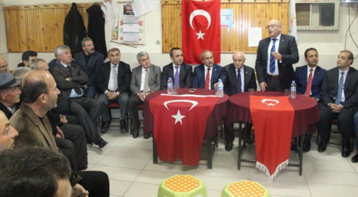 AK PARTİ MİLLETVEKİLİ ADAYLARI, MAHALLE TOPLANTISINDA