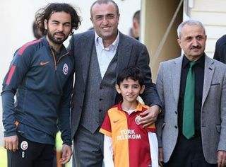 Şehit Savcı Mehmet Kiraz'ın oğlu Galatasaray idmanında