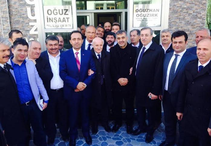 Ak Parti Kayseri Mv. Adayı Avşar Aslan'a Yoğun İlgi