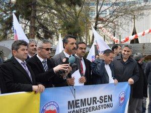 MEMUR-SEN MISIR'DAKİ CEZALARI PROTESTO ETTİ