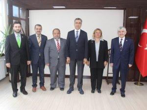 SP-BBP MV. ADAYLARI ZİYARETLERİNİ SÜRDÜRÜYOR