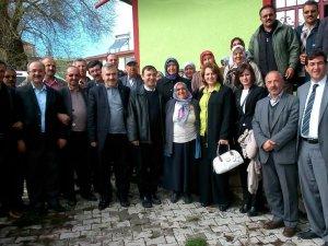 AK PARTİ KAYSERİ MV. ADAYI ÇALIŞ BÜNYAN'I ZİYARET ETTİ