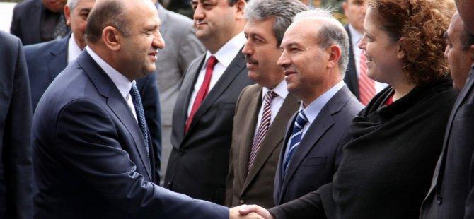 BAKAN FİKRİ IŞIK KAYSERİ'DE