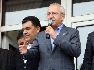 İnşallah CHP iktidarında huzuru getireceğiz