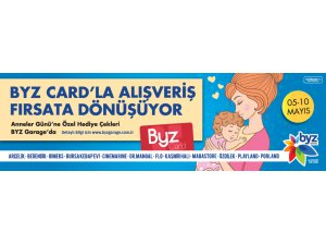 BYZ CARD'LA ALIŞVERİŞ FIRSATA DÖNÜŞÜR
