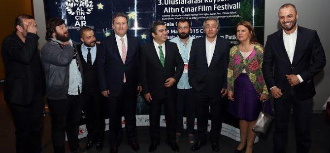 TALAS'TA 3. ALTIN ÇINAR FİLM FESTİVALİ BAŞLADI