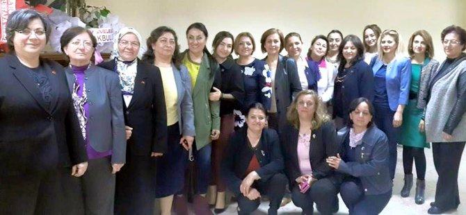 KAYSERİ KADIN PLATFORMU ÜYELERİ MHP'Yİ ZİYARET ETTİ