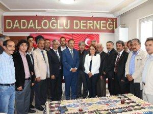 Özhaseki, Dadaloğlu Ziyaretinde konuştu