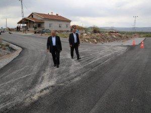 Büyükkılıç,asfaltsız yol kalmayacaktır
