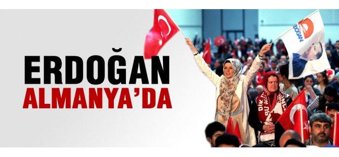 Cumhurbaşkanı Erdoğan, Almanya'da gençlik buluşmasında konuştu