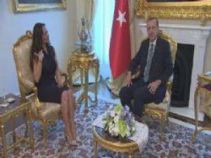 Başbakan Erdoğan ve Hülya Avşar Gezi Görüşmesini Yaptı