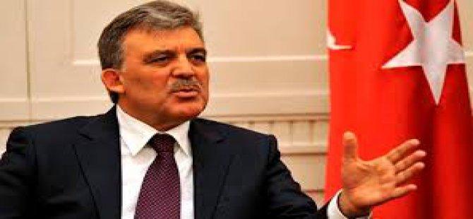 Abdullah Gül'den kaset açıklaması