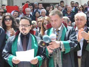 Kayseri Barosu Çağlayan'da Yaşananları Protesto Etti