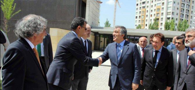 Abdullah Gül'den Kayseri'de Bomba Açıklamalar geldi