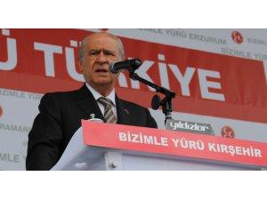 Bahçeli: 'HDP ile MHP rüyada bile yan yana gelmez'