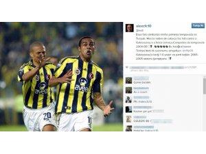 Alex'ten Fenerbahçe paylaşımı
