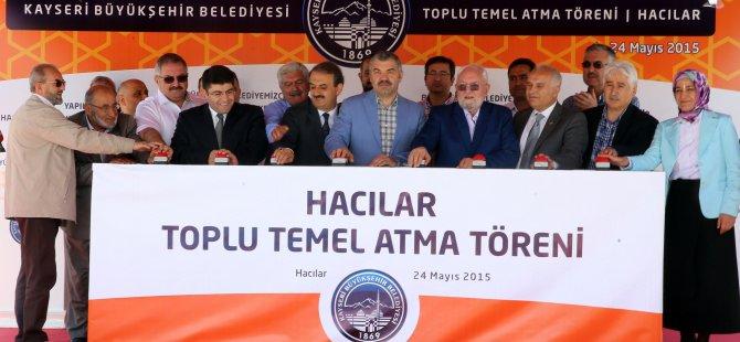 HACILAR'A DEV YATIRIMLARIN TEMELİ ATILDI