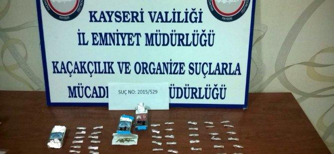 KAYSERİ'DE SİGARA KUTUSUNDAN BONZAİ ÇIKTI