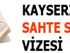 KAYSERİ'DE SAHTE SPORCU VİZESİ