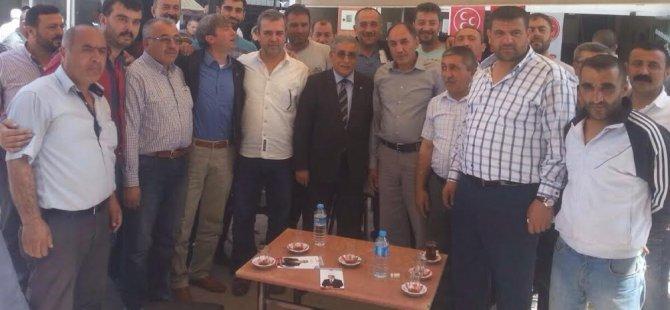 MHP MV. ADAYI KİLCİ ESNAF ZİYARETLERİNİ SÜRDÜRÜYOR