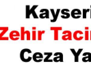 Kayseri'de Zehir Tacirlerine Ceza Yağdı