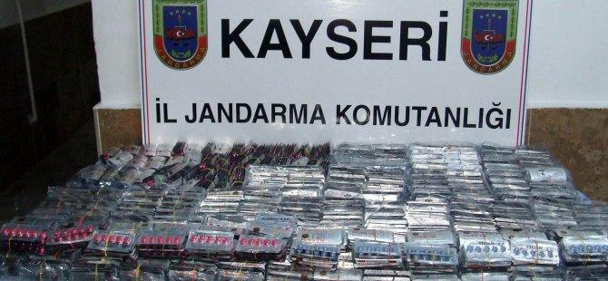 KAYSERİ'DE CİNSEL GÜCÜ ARTIRAN AZDIRICI HAP