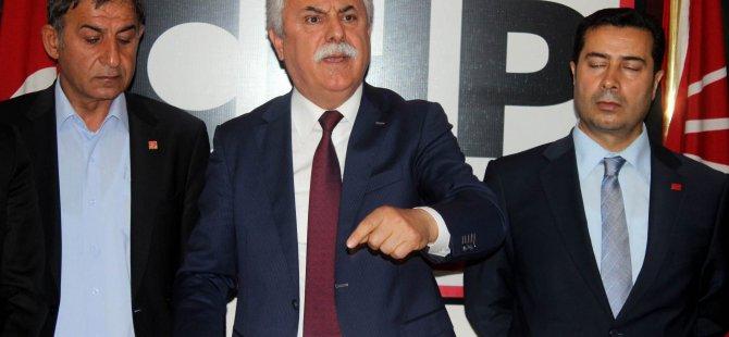 CHP KAYSERİ İL BAŞKANI MUSTAFA AYAN: