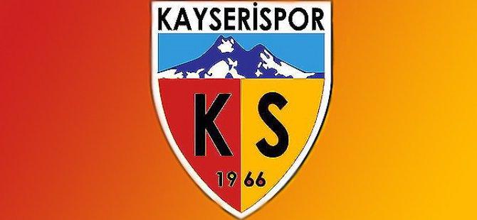 KAYSERİSPOR'DAN AÇIKLAMA KİMSEYLE ANLAŞMADIK