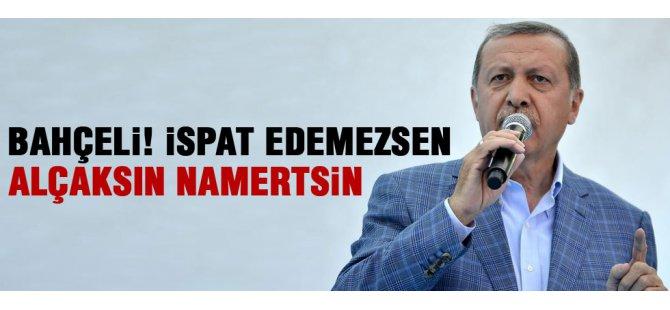 Erdoğan MHP lideri Bahçeli'yi eleştirdi