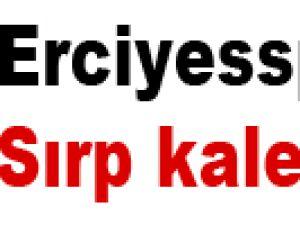Erciyesspor'a Sırp kaleci