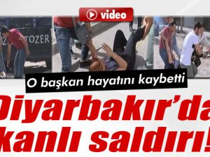 DİYARBAKIR'DA TERÖR KANLI SALDIRI