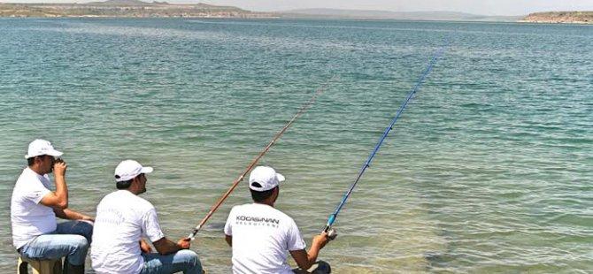 Kuşçu'da 3. Balık Avlama Yarışması