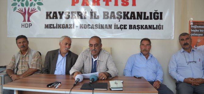 KAYSERİ HDP'DEN SEÇİM DEĞERLENDİRMESİ