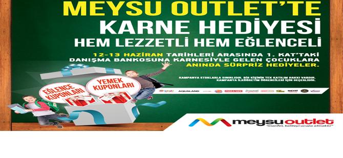 MEYSU OUTLET'TEN KARNE HEDİYESİ