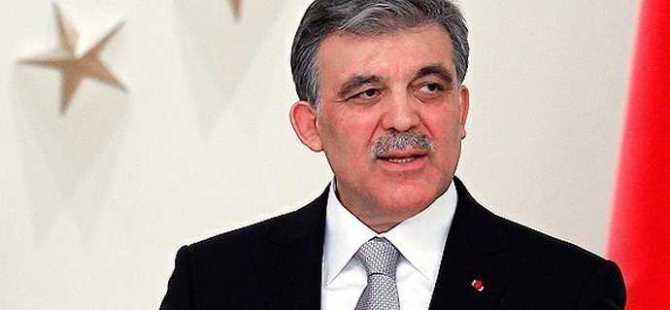 Abdullah Gül'den Davutoğlu'na cesaret