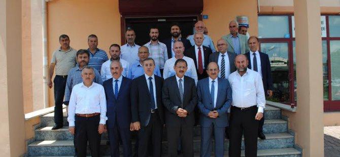 AK Parti Kayseri Teşkilatı,STK'ları ziyaret etti