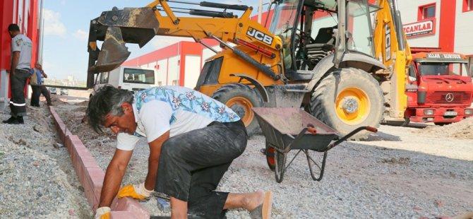 KOCASİNAN'DAN MOBİLYA KENT'E ÇEVRE DÜZENLEMESİ