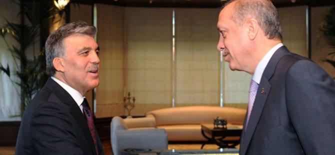 Erdoğan ile Abdullah Gül'den gizli zirve