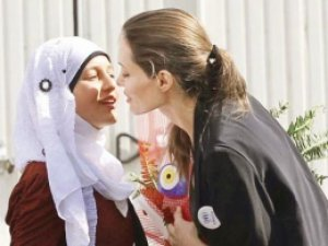 Mardin'de Angeline Jolie sürprizi