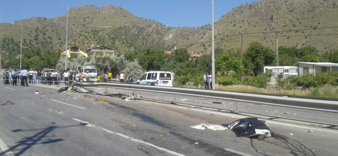 Melikgazi Altınoluk'ta Çöp kamyonu devrildi 2 kişi öldü