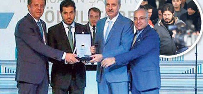 Zeybekçi ve Kurtulmuş'tan Rıza Sarraf'a ödül açıklaması