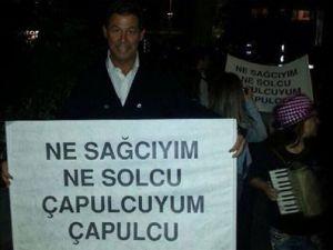 Başbakan Erdoğan o pankarta kafayı taktı!
