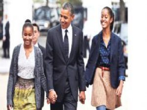 Barack Obama'nın kızlarına iPhone yok