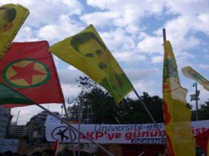 Taksim'de Abdullah Öcalan Gerginliği