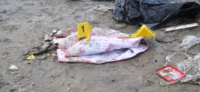 Çöplüğe bırakılan bebek açlıktan öldü