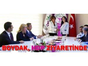 Memduh Boydak HDP'yi ziyaret etti