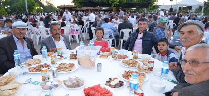 Develi-Pınarbaşı ve Gemerek Çiftçileri Şeker gölünde  buluştu