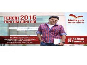 Melikşah Üniversitesi tanıtım günleri