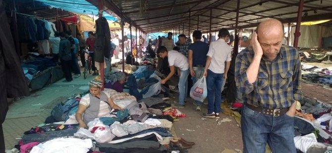 KAYSERİ'DE BİTPAZARI'NDA BAYRAM HAREKETLİLİĞİ